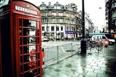 I've never felt so much at home in a place as I have in London. I'm going to live there someday.