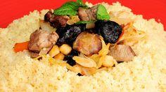 Cuscús de cordero con verduras - Receta - Canal Cocina