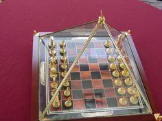 Franklin Mint King Tut Chess Set