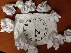 Telling Time Snowball Fight: Students have a one minute indoor snowball fight, then they grab a snowball and read the clock printed on the snowball.$