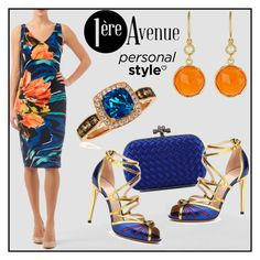 """Dressy"" by premiereavenue-boutique ❤ liked on Polyvore featuring Joseph Ribkoff, Bottega Veneta, Gucci, LE VIAN and Irene Neuwirth"