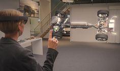 Volvo & HoloLens: Mudando a experiência na hora de comprar um carro