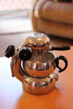 Stovetop espresso machine.