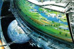 Your orbital city is ready