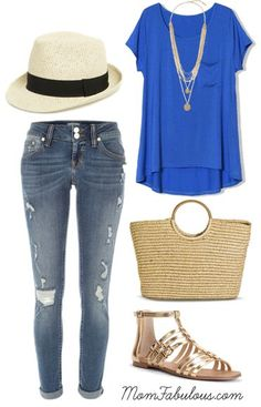 This week's cute outfit ideas is all about summer outfits with hats. From fedoras and floppy hats, summer is hat season!