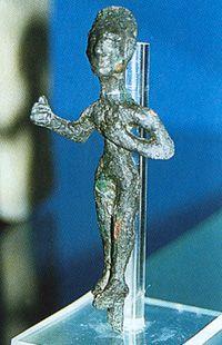 Troy VIi - bronze statuette