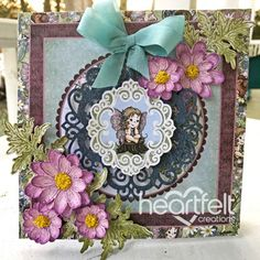 Heartfelt Creations - Thinking Darling Floral Project