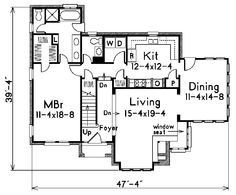 Stunning Windows Surround The Right Side - Plan #037D-0002   houseplansandmore.com