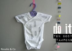 ★ DIY ★ Customise ton body Petit Bateau - Rosalie & Co