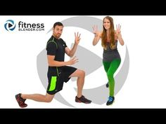 Fitness Blender - Fat Burning HIIT Cardio and Abs from the 5 Day Workout Challenge for Busy People. Check out my review at http://www.lessonswithlarissa.com/fitness-blender-review-5-day-workout-challenge/