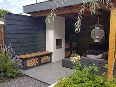 Back Garden Landscaping, Outdoor Landscaping, Backyard Seating, Backyard Patio Designs, Outdoor Bathtub, Garden Fire Pit, Home Garden Design, Garden Buildings, Gardens