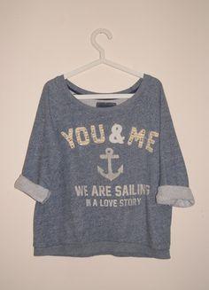 Kup mój przedmiot na #Vinted http://www.vinted.pl/kobiety/bluzy/9829333-bluza-stradivarius-marynarska-kotwica