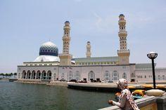 The Floating Mosque, Kota Kinabalu, Sabah, Malaysia