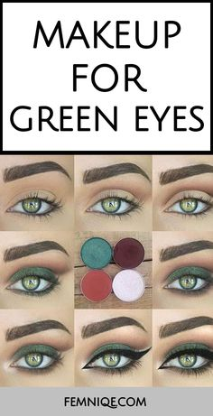 This a fantasic example of Wedding Makeup Looks For Green Eyes. – MDL Smeding This a fantasic example of Wedding Makeup Looks For Green Eyes. This a fantasic example of Wedding Makeup Looks For Green Eyes. Makeup Looks For Green Eyes, Green Makeup, Eyeshadow For Green Eyes, Make Up Ideas For Green Eyes, Eye Makeup For Hazel Eyes, Makeup Tricks, Makeup Ideas, Makeup Inspiration, Makeup 101