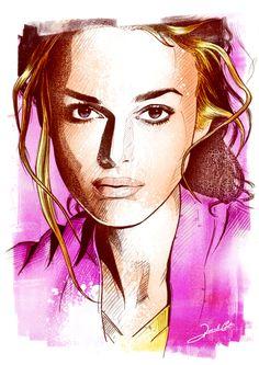 Kiera Knightley By Renato Cunha