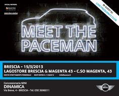 DINAMICA #BONERA presenta nuova #MINI PACEMAN presso gli showroom #Magenta43 e #LagostoreBrescia !!