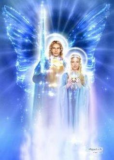 Archangel Michael & Lady Faith