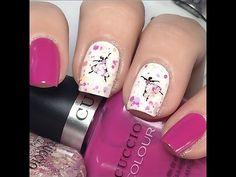 Dancing Ballerina 1.Cuccio - Verona Lace, 2.Pink Cadillac, 3.Mimes & Musicians Ballerina Stickers OPI Nail Envy - Base coat Top Coat - Seche Vite Clean up Brush - Royal Majestic 1/4 clean up brush