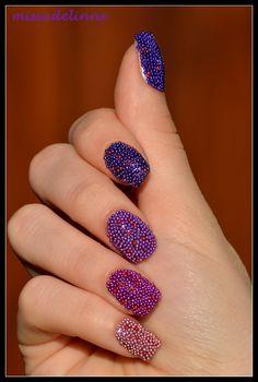 Ombrè & Caviar Nails
