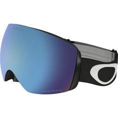 e97cf96f1a Oakley - Flight Deck XM Prizm Goggles - Matte Black/Prizm Sapphire Irid  Oakley Napszemüveg