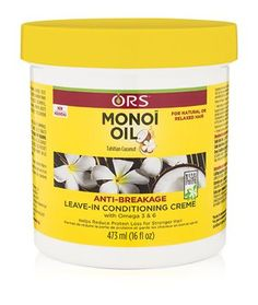 ORS Monoi Oil Anti-Breakage Leave-In Conditioning Creme 16 oz