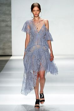 Ruffled RowsWe take your ruffles and raise you one. Or, several. Come spring, indulge your feminine side with rows of ruffles in light and airy textures. Zimmermann chooses to take them off the shoulder — and we're gonna choose to as well as soon as this dress is available for purchase!