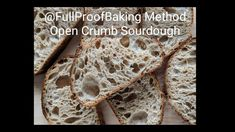 How To Make A Basic Open Crumb Sourdough Bread – All Recipes Food Cooking Network Sourdough Recipes, Sourdough Bread, Bread Recipes, Cooking Bread, Bread Baking, Whole Wheat Sourdough, Bun In The Oven, King Arthur Flour, Baking Supplies