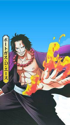 One Piece Ace, One Piece World, Naruto Wallpaper Iphone, One Piece Wallpaper Iphone, One Piece Pictures, One Piece Images, Otaku Anime, Anime Guys, Portgas Ace