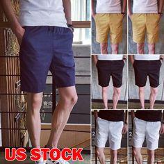 6c84aa5d NEW Casual Trousers Cotton Men Pants Baggy Shorts Pockets Cargo Short Pants  US #fashion #