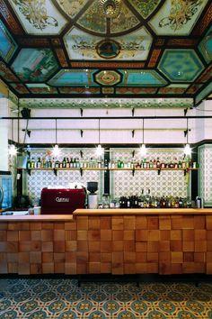 michael Grzesiak transforma una carnicería centenaria en un bar