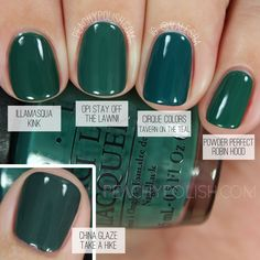 OPI Stay Off The Lawn!! | Washington D.C. Collection Comparisons | Peachy Polish