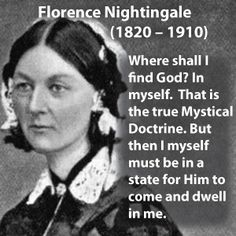 Florence Nightingale, (England), was the founder of modern nursing, and set up the first secular nursing school in the world.