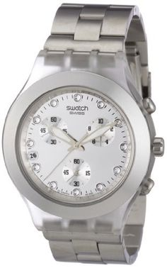 Swatch Diaphane Chronograph Blooded Silver Mens Watch SVCK4038G -- Click on the image for additional details.Note:It is affiliate link to Amazon.