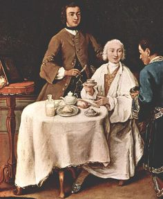 Georg Christoph Groot - Portrait of Count Ulrich Friedrich Woldemar Levendalya with his wife c. Old Paintings, Beautiful Paintings, Madame Pompadour, Italian Outfits, Italian Clothing, Georgian Era, 18th Century Fashion, Tea Art, Barbie Collector