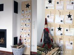 natuerlichkreativ: Adventskalender - envelope/pouch style Advent calendars