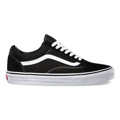 The Old Skool, Vans classic skate shoe and the first to bare the iconic side stripe, has a low-top lace-up silhouette with a durable suede and canvas upper with padded tongue and lining and Vans signature Waffle Outsole.    Check out our Old Skool Pro for upgraded cushioning and durability.