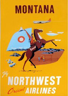 Montana - Northwest Airlines