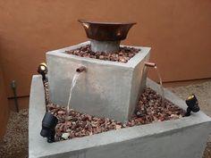 Homemade Water Fountain - Courtyard Fountain Build