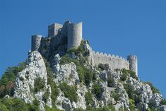 Puylaurens - Cathar Castle in the French Pyrenées | Flickr - Photo Sharing!