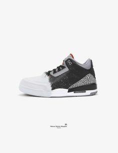buy online b2485 39cb6 Fake Air Jordan High Fashion Collaborations by Dead Dilly   Sole Collector Air  Jordan Iii,
