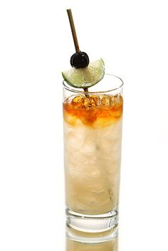 """The Carbonated Mai Tai, at Pint & Jigger, Honolulu features Hawaii Bitters Company Tahitian Lime bitters. In """"Cocktail Country: Outstanding Drinks From All 50 States"""" -- Grub Street New York #hawaiibitterscompany #hawaii #cocktail #pintandjigger #maitai"""