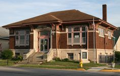 Spencer's Carnegie library, now the Owen County Heritage & Cultural Center, is being restored with help from a grant from the Efroymson Family Fund of the Central Indiana Community Foundation.