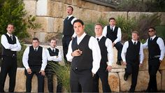 Photos: Matt Montalvo Photography #groom #groomsmen #wedding