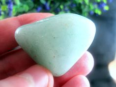 Green Aventurine Natural Tumbled Stone for 18 Grams Healing Crystals