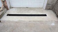 Drainage entrée de garage Drainage, Construction, Tile Floor, Flooring, Garage Entry, Building, Tile Flooring, Wood Flooring, Floor