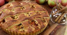 Underbar äppelpaj med kolasås och kanel. Servera gärna med vaniljglass, oemotståndligt gott!