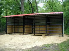 1000 images about horses on pinterest hay feeder horse for Three sided shed plans
