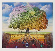 Jacek Yerka - Tantric Apple Tree