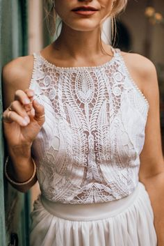 Bridal Skirts, Wedding Dresses, Hippie Vintage, Bridal Tops, Bridal Bolero, Sheath Wedding Gown, Bridal Outfits, Boho Tops, The Dress