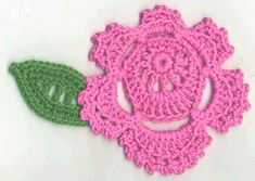Rose Tutorial, Free pattern